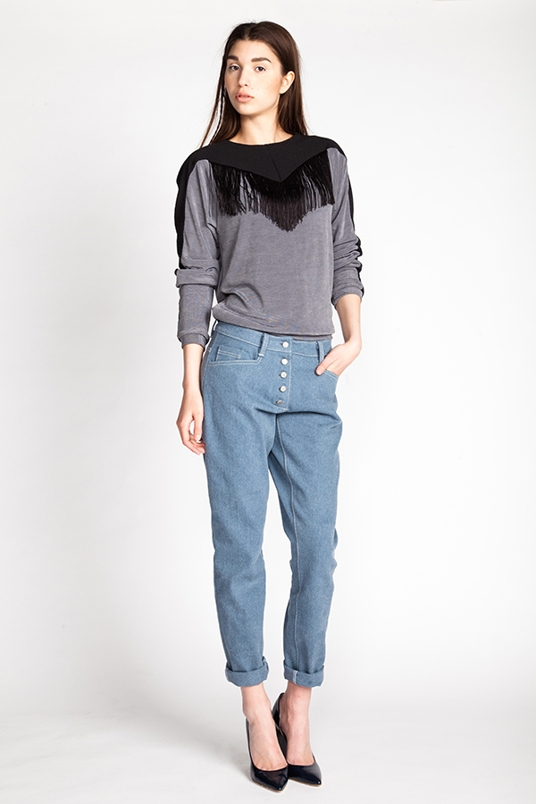 Wyome Jeans Sewing Pattern - Named Clothing - from The Fold Line