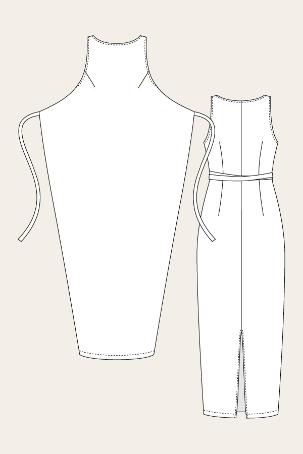 Kielo Dress Sewing Pattern - Named Clothing - Available from The ...