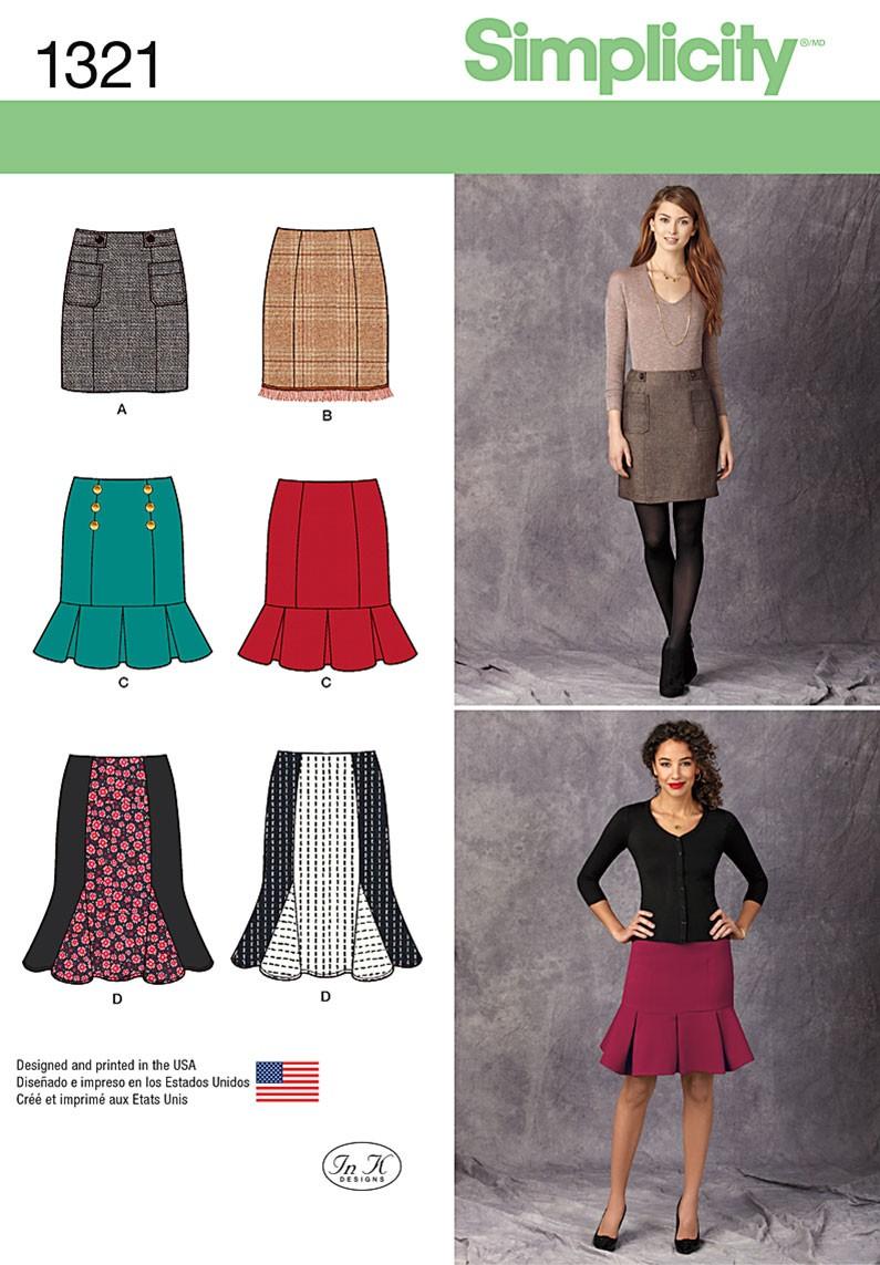 Simplicity Skirt Patterns Interesting Decorating Ideas