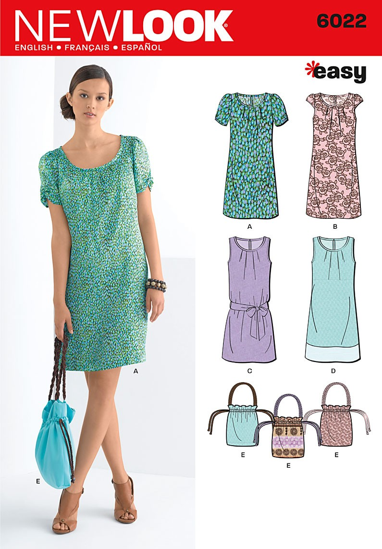 New Look dress 6022 - The Foldline