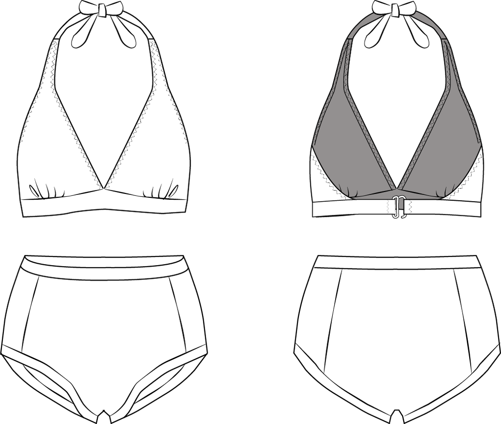 Marilyn Bikini - The Foldline