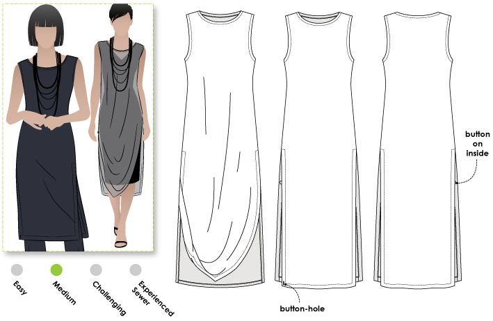 Cleo Designer Long Tabard - The Foldline