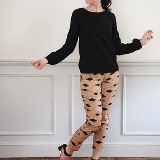 Buy the ultimate trouser sewing pattern from Sew Over It from The Fold Line
