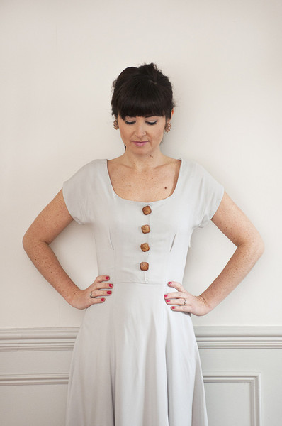 The Doris Dress sewing pattern - Sew Over It - available on The Fold ...