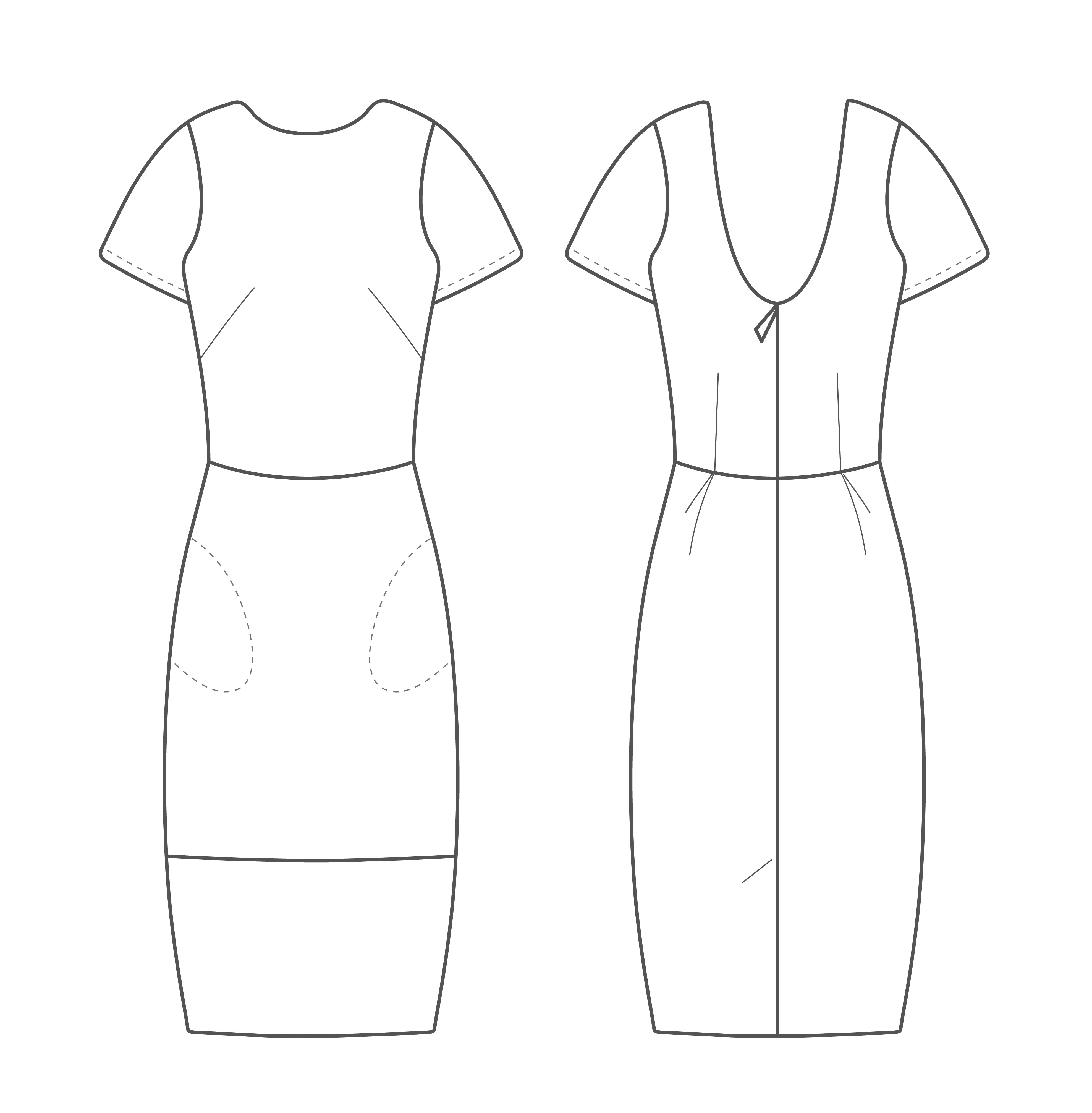 The Shift Dress Kids Sewing Pattern - The Avid Seamstress ...