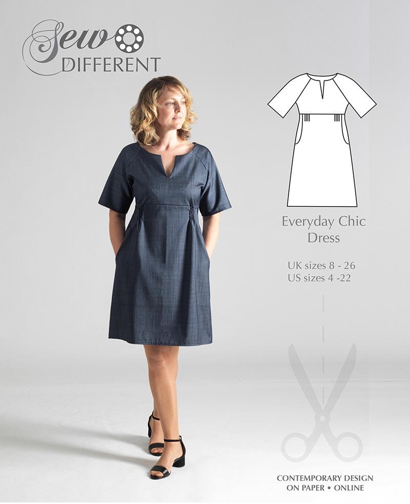 Everyday Chic Dress - The Foldline