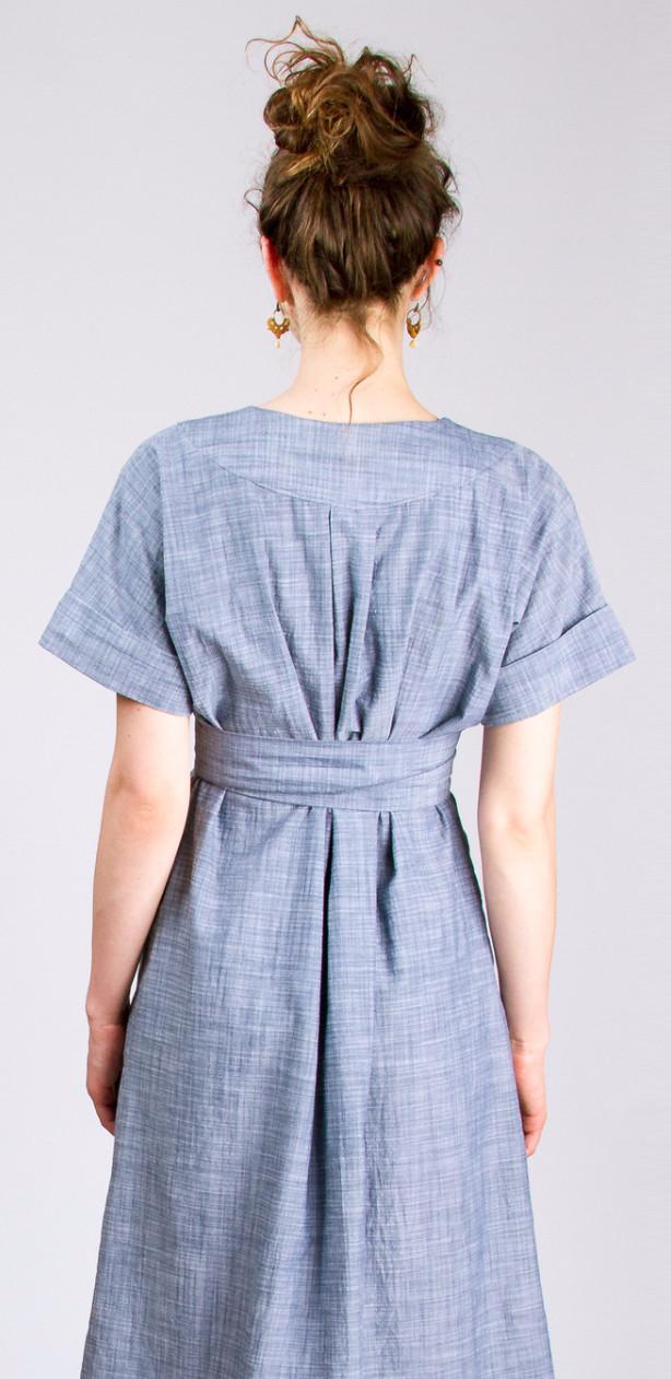 Tea House Dress And Top The Foldline