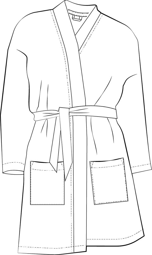 Kimono Cardigan The Foldline Inspiration Kimono Sewing Pattern