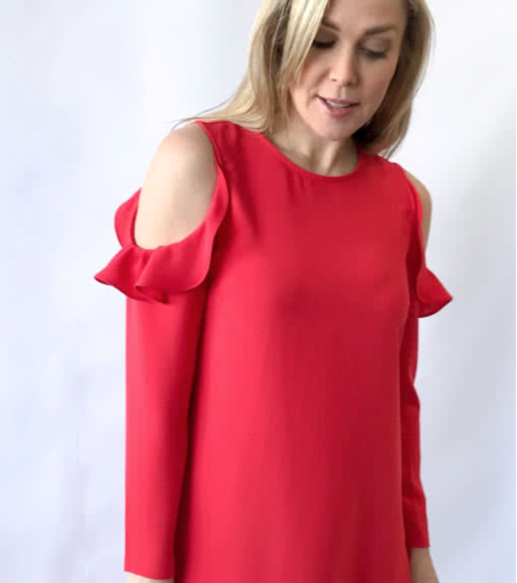 dbb4f66f3 Lara Jane Dress and Top - The Foldline
