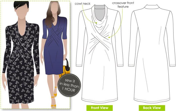 Marita Knit Dress The Foldline
