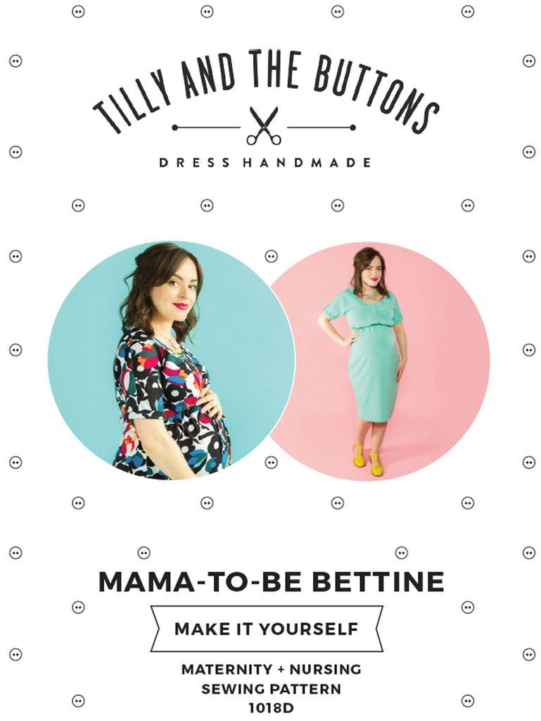 Bettine Maternity Nursing Dress The Foldline