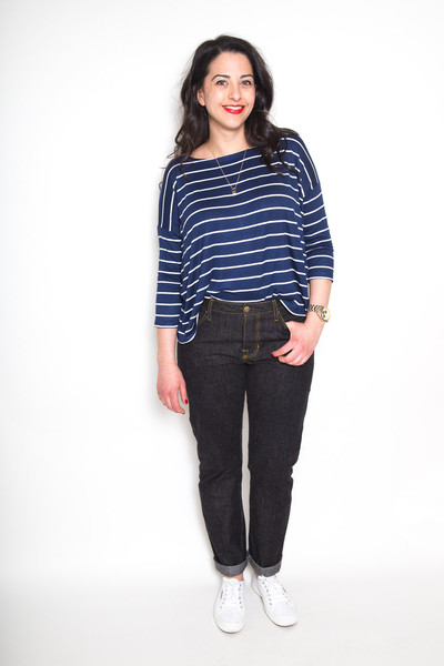Buy the Morgan jeans sewing pattern from Closet Case Patterns from The Fold  Line 8a737f4b6