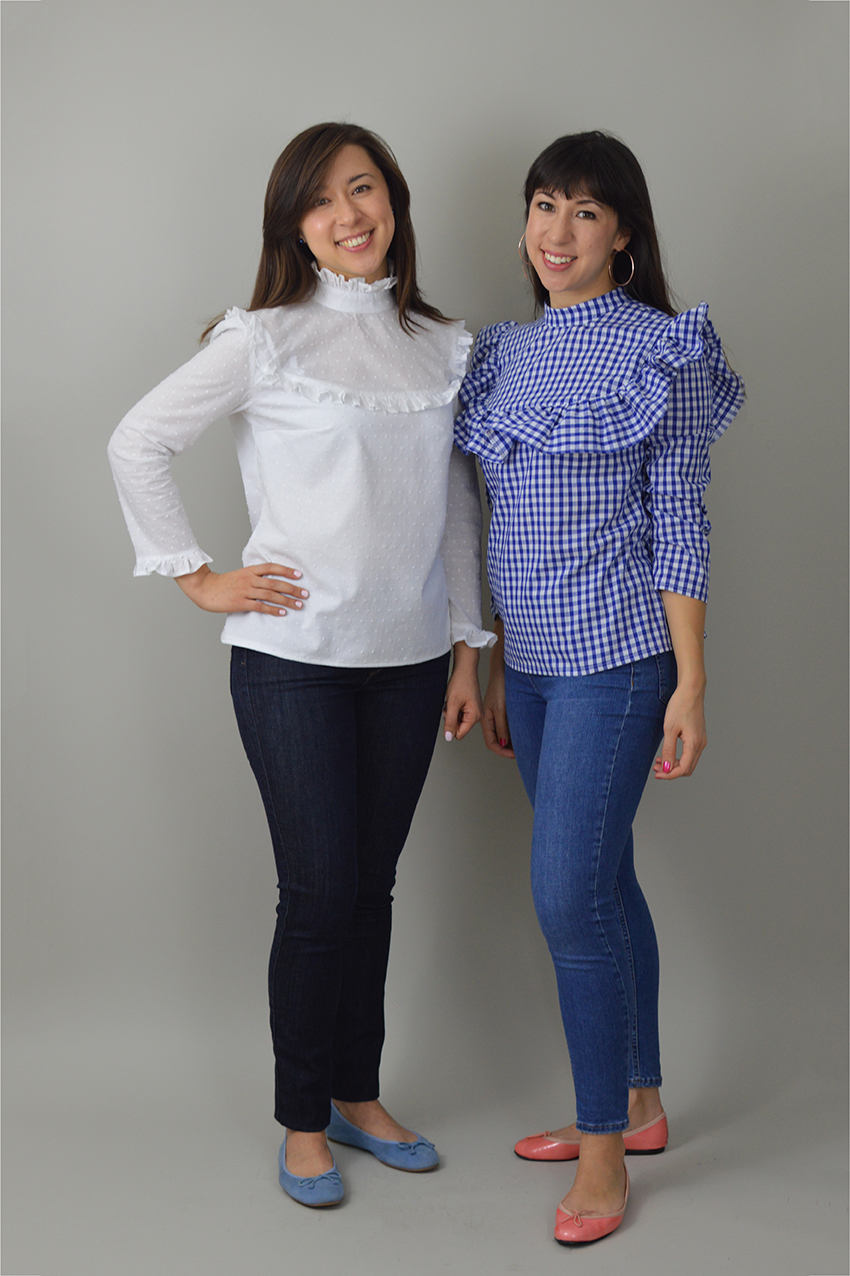 468990b42baab6 Buy the Bloomsbury blouse sewing pattern from Nina Lee London from The Fold  Line