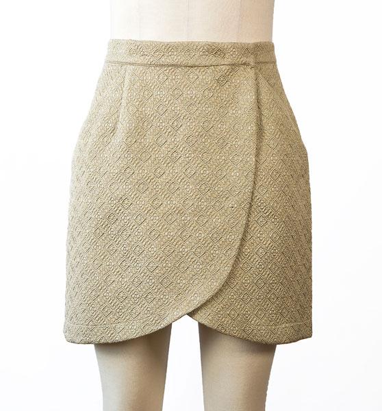 City stroll wrap skirt - The Foldline