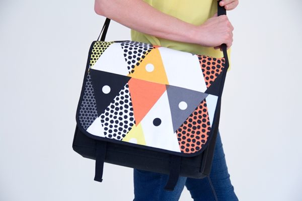 Bonnie and Betty Messenger Bags - The Foldline
