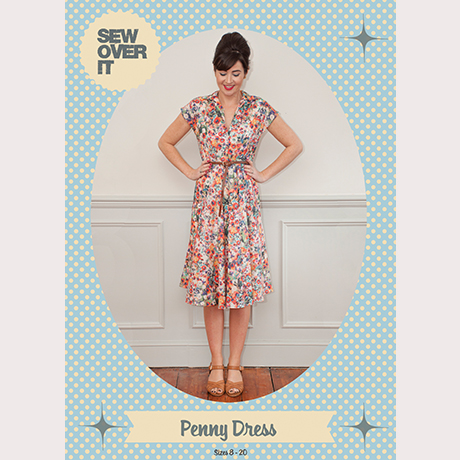 The Penny Dress Sewing Pattern - Sew Over It - available on The Fold ...