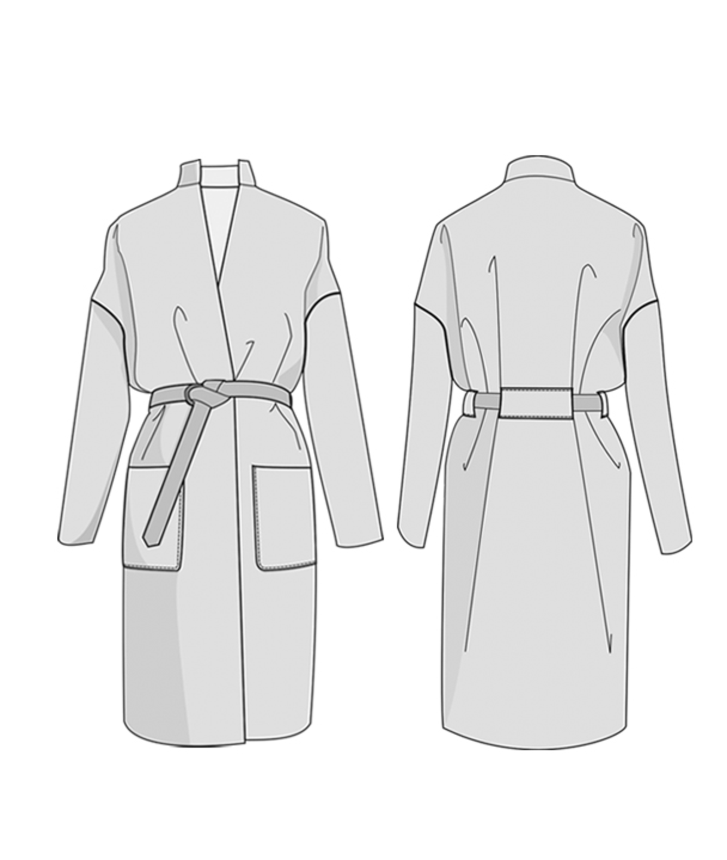 Riga Coat - The Foldline