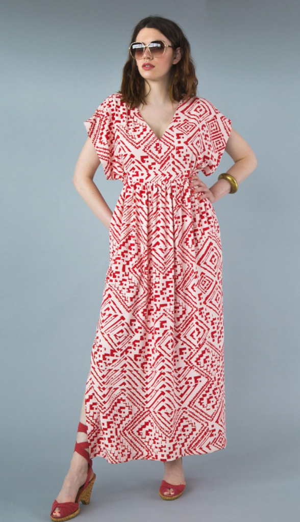 Buy the Charlie caftan sewing pattern from Closet Case Patterns