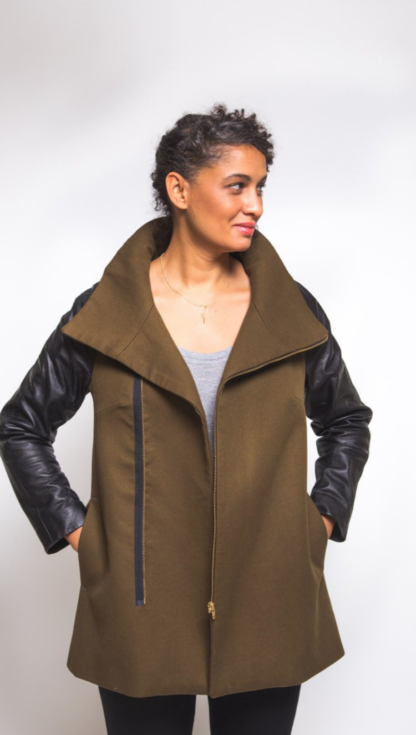 Buy the Clare Coat sewing pattern from Closet Case Patterns on The Fold Line