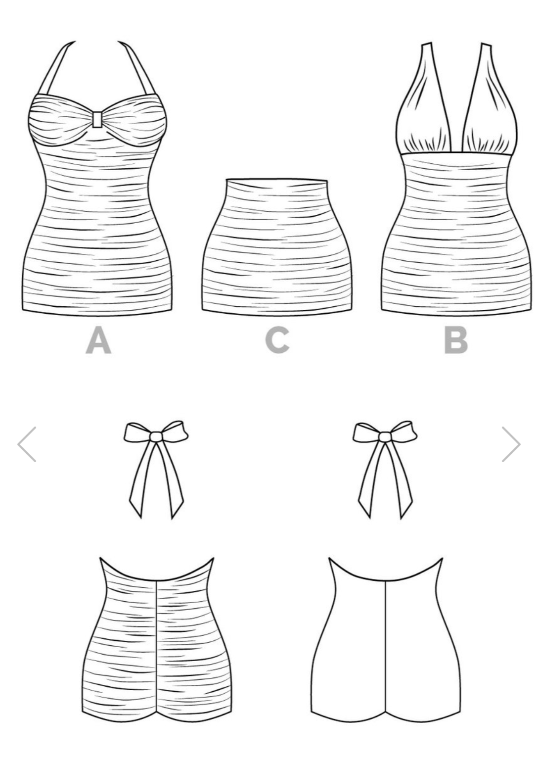 The Bombshell Swimsuit Sewing Pattern - Closet Case Patterns ...