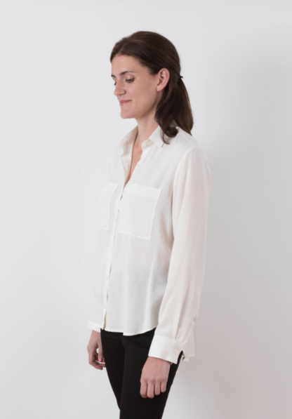 Buy the Archer Button up shirt sewing pattern from Grainline Studio from The Fold Line