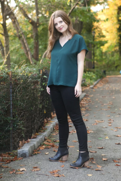 Buy the Sutton blouse sewing pattern from True Bias from The Fold Line