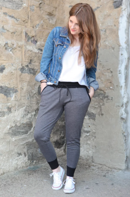 Buy the Hudson pants and top sewing pattern from True Bias from The Fold Line