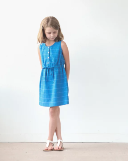 Buy the mini Southport dress and top sewing pattern from True Bias from The Fold Line