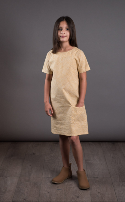 Buy the Gathered dress sewing pattern from The Avid Seamstress from The Fold Line