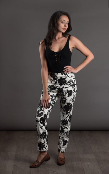 Buy the City trousers sewing pattern from The Avid Seamstress from The Fold Line