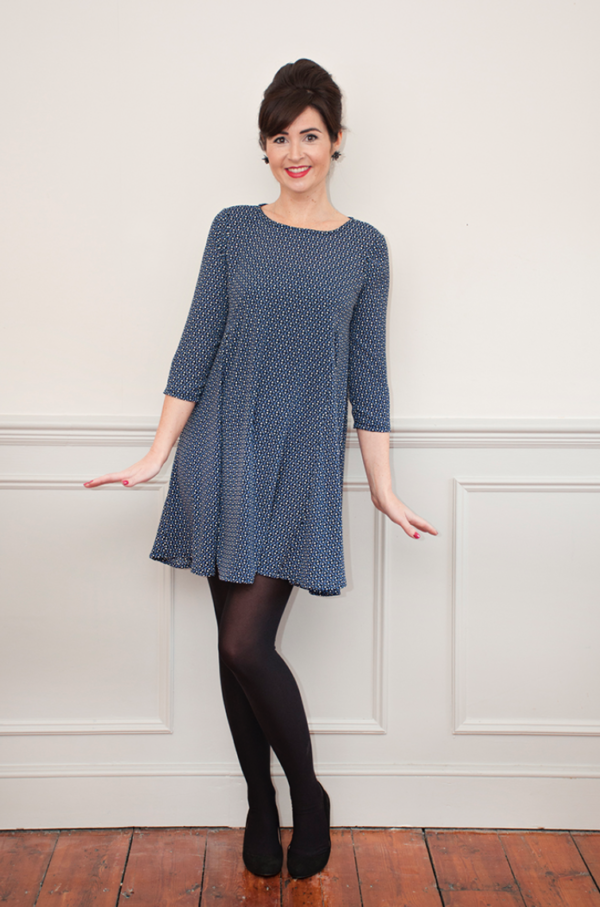 Buy the Nancy dress from Sew Over It on The Fold Line