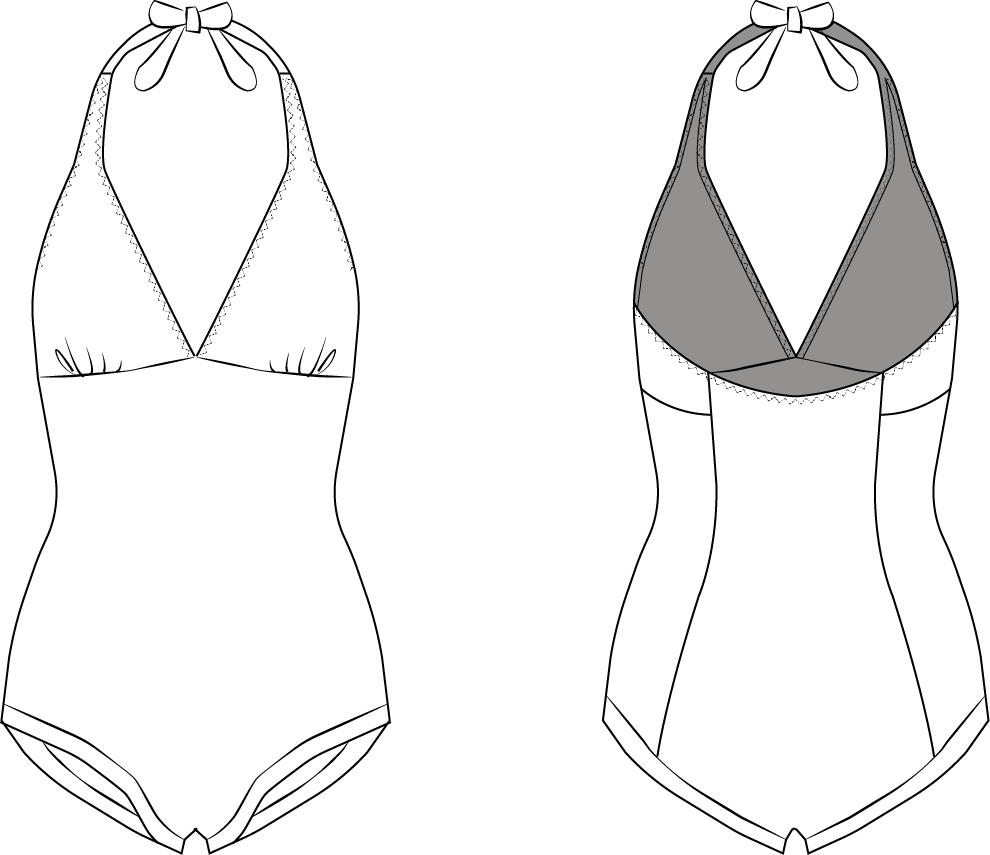 Rita Swimsuit - The Foldline