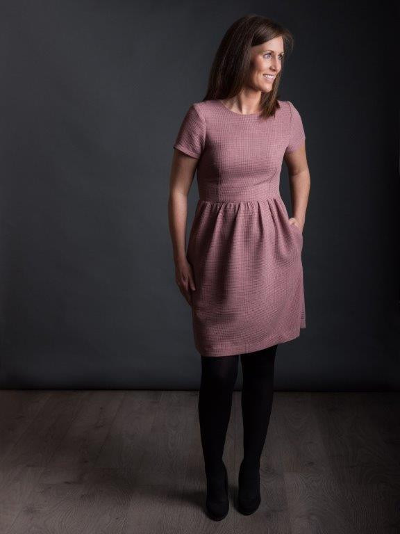 Buy the Day dress sewing pattern from The Avid Seamstress from The Fold Line