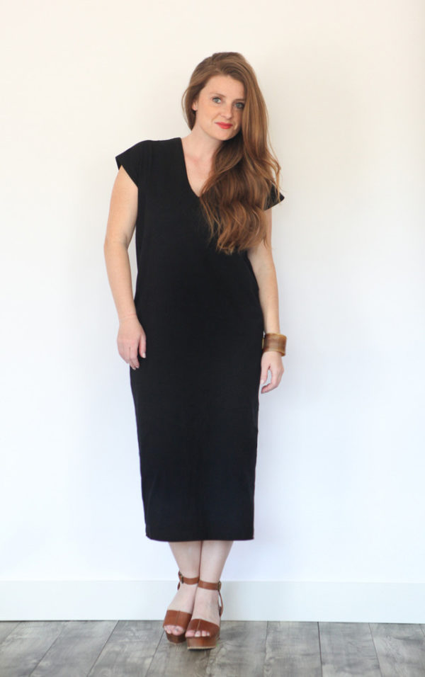 Buy the Lodo dress and top sewing pattern from True Bias from The Fold Line