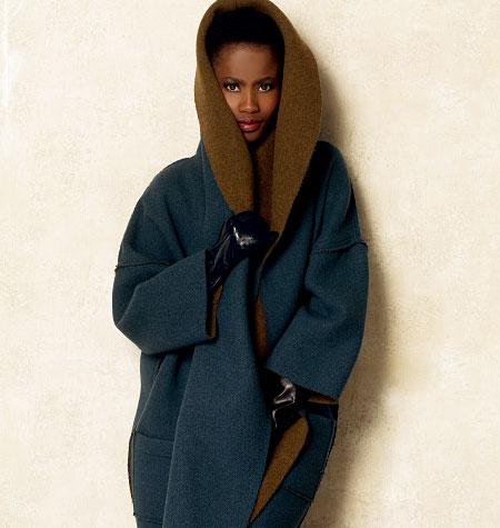Vogue Sewing Pattern V8930 Women/'s Wrap Jacket Coat