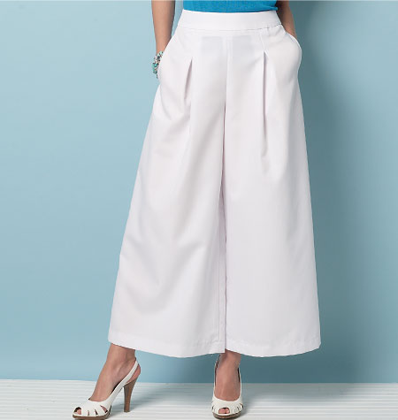 Vogue Culottes and Trousers V9091 - The Foldline