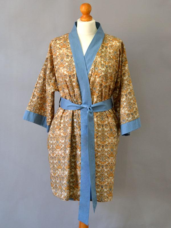 fa5fa94a83 Buchanan Dressing Gown - The Foldline