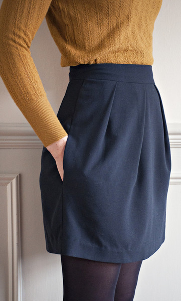 The Tulip Skirt Sewing Pattern Sew Over It Available On The Fold