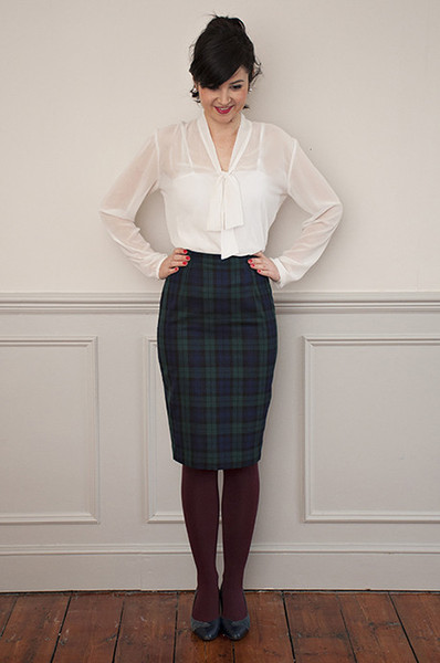 Buy the ultimate pencil skirt sewing pattern from Sew Over It from The Fold Line