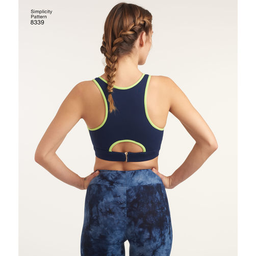 bc730fbb766 ... Simplicity Misses' Knit Sports Bras 8339. 🔍. This ...