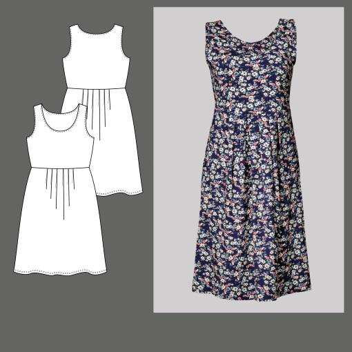 2c49d5aa Stoff & Stil Dress 23118 - The Foldline