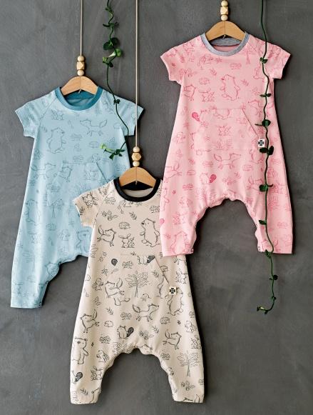 bea9db666a28 Stoff   Stil Children s Infants Jumpsuit 81025 - The Foldline