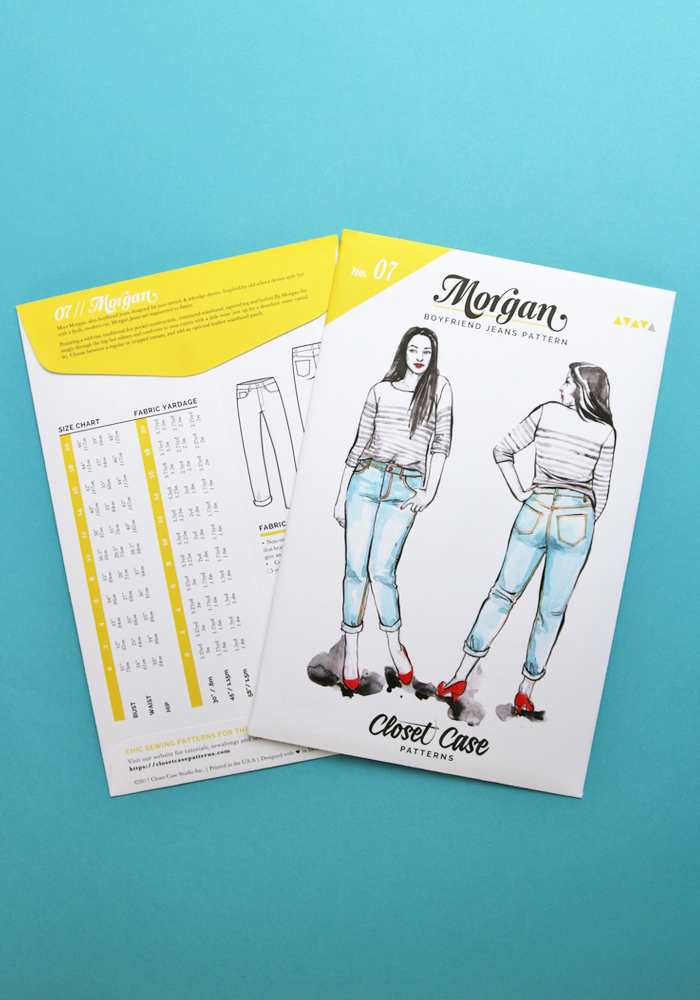 9e69305919 The Morgan Jean Sewing Pattern - Closet Case Patterns - Available ...