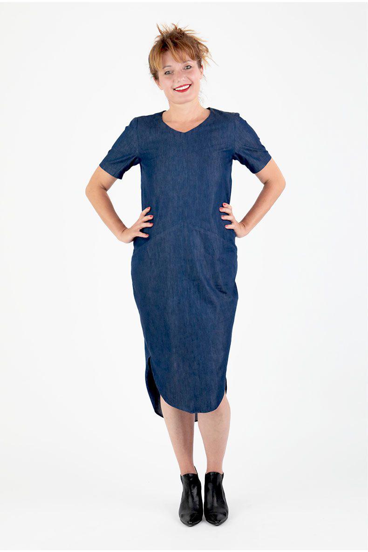 7959164509728 Trine Cocoon Dress. Schnittchen Patterns