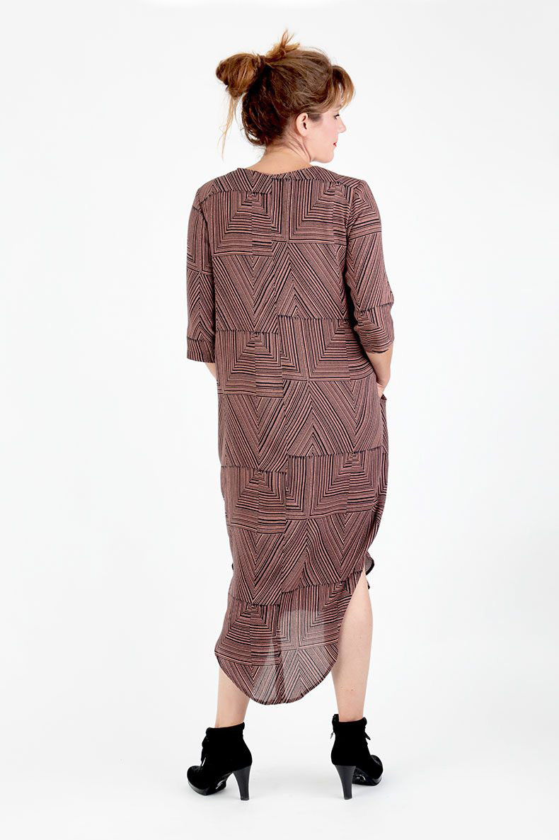 7959164509728 Trine Cocoon Dress. Schnittchen Patterns